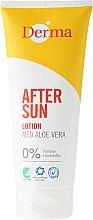 Parfémy, Parfumerie, kosmetika Lotion po opalování s extraktem z aloe - Derma After Sun Lotion Med Aloe Vera