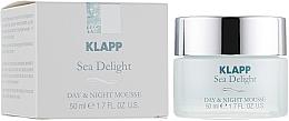 """Parfémy, Parfumerie, kosmetika Krém-pěna """"Mořské pokušení"""" - Klapp Sea Delight Day & Night Mousse"""