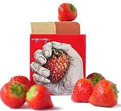 Parfémy, Parfumerie, kosmetika Přírodní mýdlo s extraktem z jahod - Uoga Uoga Strawberry! Soap