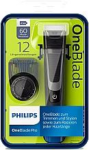 Parfémy, Parfumerie, kosmetika Multifunkční zastřihovač - Philips OneBlade Pro QP6510/20
