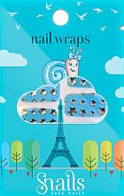 Parfémy, Parfumerie, kosmetika Nálepky pro nehtový design - Snails Nail Wraps