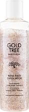 Parfémy, Parfumerie, kosmetika Scrub na obličej - Gold Tree Barcelona Rose Face Exfoliation
