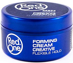 Parfémy, Parfumerie, kosmetika Stylingový vlasový krém pro muže - Red One Professional Men Forming Cream Creative Flexible Hol