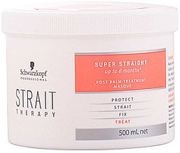 Parfémy, Parfumerie, kosmetika Vyrovnávací maska - Schwarzkopf Professional Strait Therapy Post Treatment Balm