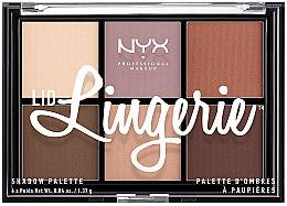 Parfémy, Parfumerie, kosmetika Paleta očních stínů - NYX Professional Makeup Lingerie Shadow Palette