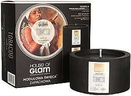Parfémy, Parfumerie, kosmetika Aromatická svíčka - House of Glam Tobacco & Vanilla Candle
