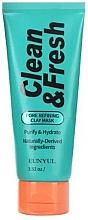 Parfémy, Parfumerie, kosmetika Jílová maska pro čištění pórů - Eunyul Clean & Fresh Pore Refining Clay Mask
