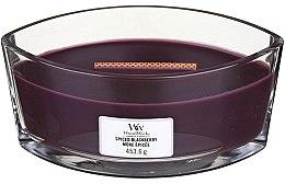 Parfémy, Parfumerie, kosmetika Vonná svíčka ve sklenici - Woodwick Hearthwick Flame Ellipse Candle Spiced Blackberry