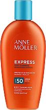Parfémy, Parfumerie, kosmetika Opalovací mléko pro urychlení opalování - Anne Moller Express Sunscreen Body Milk SPF50