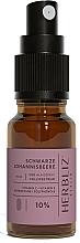 Parfémy, Parfumerie, kosmetika Ustní sprej na bázi oleje Černý rybíz 10% - Herbliz CBD Oil Mouth Spray 10%