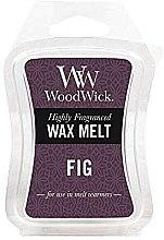 Parfémy, Parfumerie, kosmetika Aromatický vosk - WoodWick Wax Melt Fig