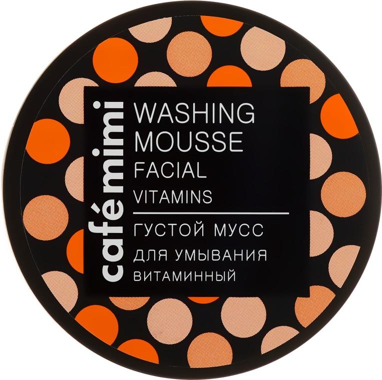Čisticí pěna na obličej s vitáminovým komplexem - Cafe Mimi Washing Mousse Facial Vitaminc