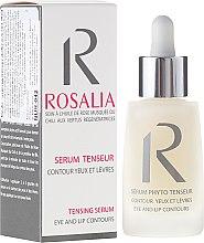 Parfémy, Parfumerie, kosmetika Zpevňující sérum pro kontury očí a rtů - Naturado Rosalia Serum Eye And Lip Contours