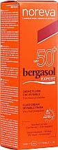 Parfémy, Parfumerie, kosmetika Opalovací fluid - Noreva Laboratoires Bergasol Expert IFluid Cream Invisible Finish SPF50+