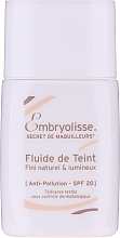 Parfémy, Parfumerie, kosmetika Pleťový fluid - Embryolisse Secret De Maquilleurs Liquid Foundation Spf 20