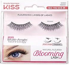 Parfémy, Parfumerie, kosmetika Umělé řasy - Kiss Natural Flourish Blooming Lashes Peony