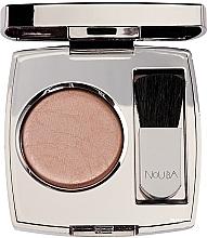 Parfémy, Parfumerie, kosmetika Kompaktní tvářenka - Nouba Blushow Baked Blush Silver Case