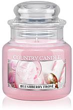 Parfémy, Parfumerie, kosmetika Vonná svíčka (sklenice) - Country Candle Blushberry Frose