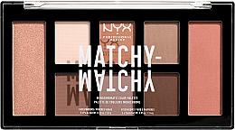 Parfémy, Parfumerie, kosmetika Paleta pro make-up - NYX Professional Makeup Matchy Matchy Palette