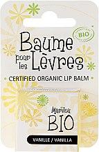 """Parfémy, Parfumerie, kosmetika Balzám na rty """"Vanilka"""" - Marilou Bio Certified Organic Lip Balm"""