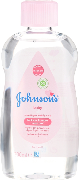 Tělový olej - Johnson's Baby Classic Body Oil