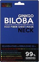 Parfémy, Parfumerie, kosmetika Expresní maska na krk - Beauty Face IST Rejuvenating & Rebuilding Neck Mask Ginkgo Biloba
