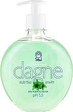 Parfémy, Parfumerie, kosmetika Tekuté mýdlo Zelený čaj - Seal Cosmetics Dagne Liquid Soap