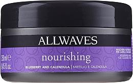 Parfémy, Parfumerie, kosmetika Výživná maska po barvení s extrakty borůvek a měsíčku - Allwaves Blueberry And Calendula Nourishing Mask