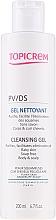 Parfémy, Parfumerie, kosmetika Jemný čistící gel - Topicrem PV/DS Cleansing Gel