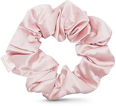 Parfémy, Parfumerie, kosmetika Hedvábná gumička do vlasů, růžová - Crystallove