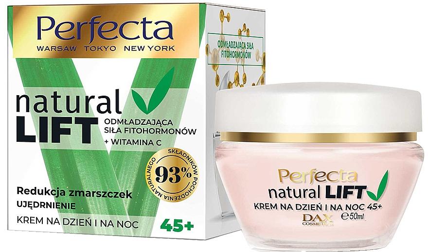 Zpevňující krém proti vráskám 45+ - Perfecta Natural Lift Anti-wrinkle Firming Cream