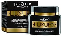 Parfémy, Parfumerie, kosmetika Noční krén na obličej - Postquam Luxury Gold Regenerating Night Cream