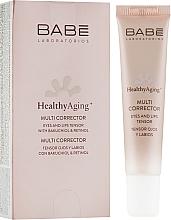 Parfémy, Parfumerie, kosmetika Korektor s anti-age účinkem na rty a pleť kolem oči - Babe Laboratorios Healthy Aging Multi Corrector