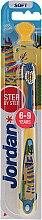 Parfémy, Parfumerie, kosmetika Dětský zubní kartáček Step 3 (6-9) ) měkký, žluto-modrý, lama - Jordan