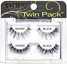 Parfémy, Parfumerie, kosmetika Umělé řasy, 2 páry - Ardell Twin Pack Wispies Black