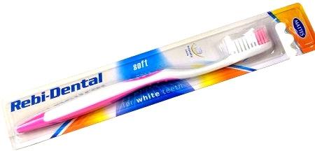 Zubní kartáček Rebi-Dental, M46 měkký - Mattes