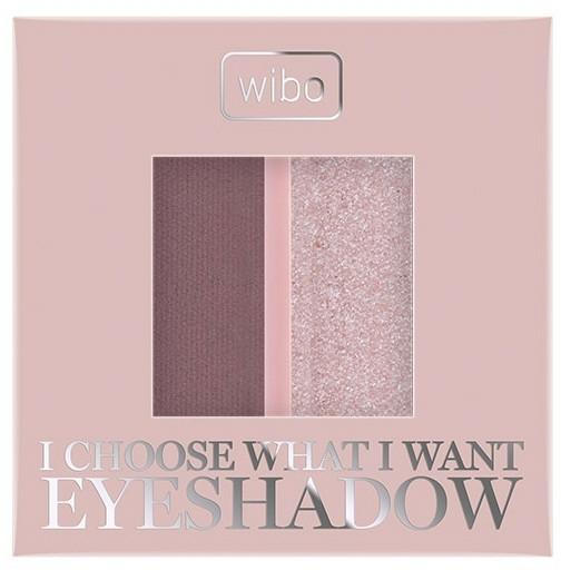 Oční stíny - Wibo I Choose What I Want Duo Eyeshadow