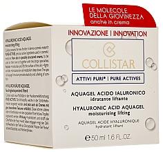 Parfémy, Parfumerie, kosmetika Aqua-gel s kyselinou hyaluronovou pro zvlhčování a lifting obličeje - Collistar Pure Actives Moisturizing Acid Aquagel
