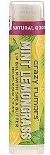 Parfémy, Parfumerie, kosmetika Balzám na rty - Crazy Rumors Peppermint Lemongrass Lip Balm