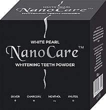 Parfémy, Parfumerie, kosmetika Bělicí zubní prášek - VitalCare White Pearl NanoCare Charcoal Teeth Powder