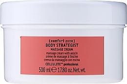 Parfémy, Parfumerie, kosmetika Anticelulitidní masážní tělový krém s escinem - Comfort Zone Body Strategist Massage Cream