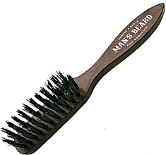 Parfémy, Parfumerie, kosmetika Kartáč s rukojetí pro úpravu vousů - Man'S Beard Beard And Mustache Brush