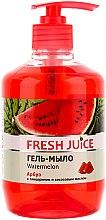 Parfémy, Parfumerie, kosmetika Gelové mýdlo s glycerinem Vodní meloun - Fresh Juice Watermelon