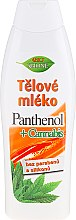 Parfémy, Parfumerie, kosmetika Tělové mléko - Bione Cosmetics Pantenol + Cannabis Body Lotion