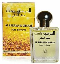 Parfémy, Parfumerie, kosmetika Al Haramain Dhahab - Olejový parfém (mini)