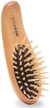 Parfémy, Parfumerie, kosmetika Dřevěný štětec na vousy - Men Rock Beard Brush