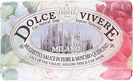 """Parfémy, Parfumerie, kosmetika Mýdlo """"Milán"""" - Nesti Dante Dolce Vivere Milano"""