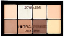 Parfémy, Parfumerie, kosmetika Sada na konturování obličeje - Makeup Revolution HD Pro Cream Contour