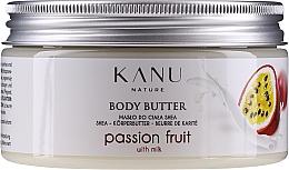 Parfémy, Parfumerie, kosmetika Tělový olej Maracuja - Kanu Nature Passion Fruit Body Butter