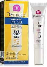 Parfémy, Parfumerie, kosmetika Gel na oční víčka proti tmavým kruhům pod očima - Dermacol Eye Gold Gel